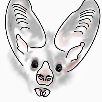 Bat Face by kwizzitive