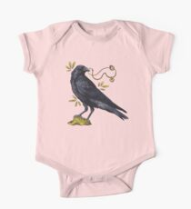 Crow with golden eye One Piece - Short Sleeve