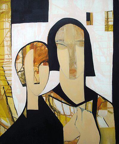 "ART by bec ""Mother & Friend"" by ARTbybec"