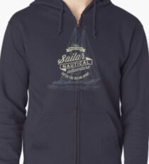 True mariner – nautical adventure Zipped Hoodie