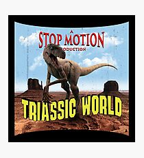 Triassic World Photographic Print