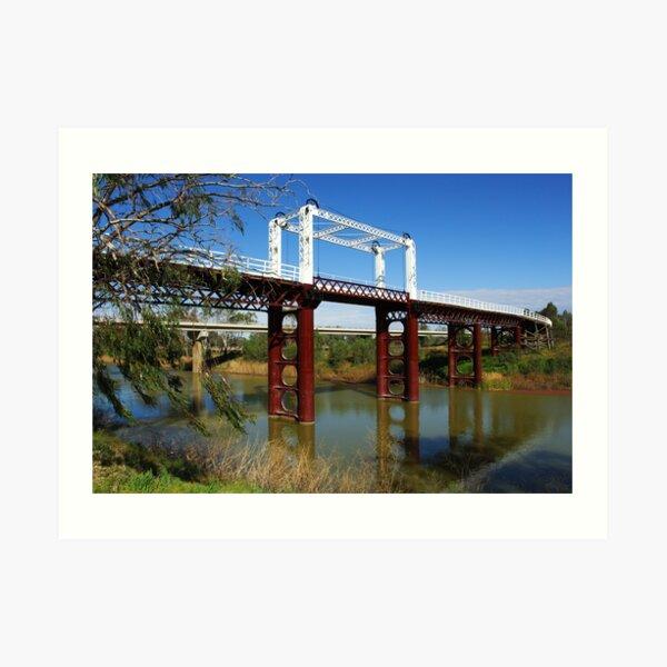 North Bourke Bridge Art Print