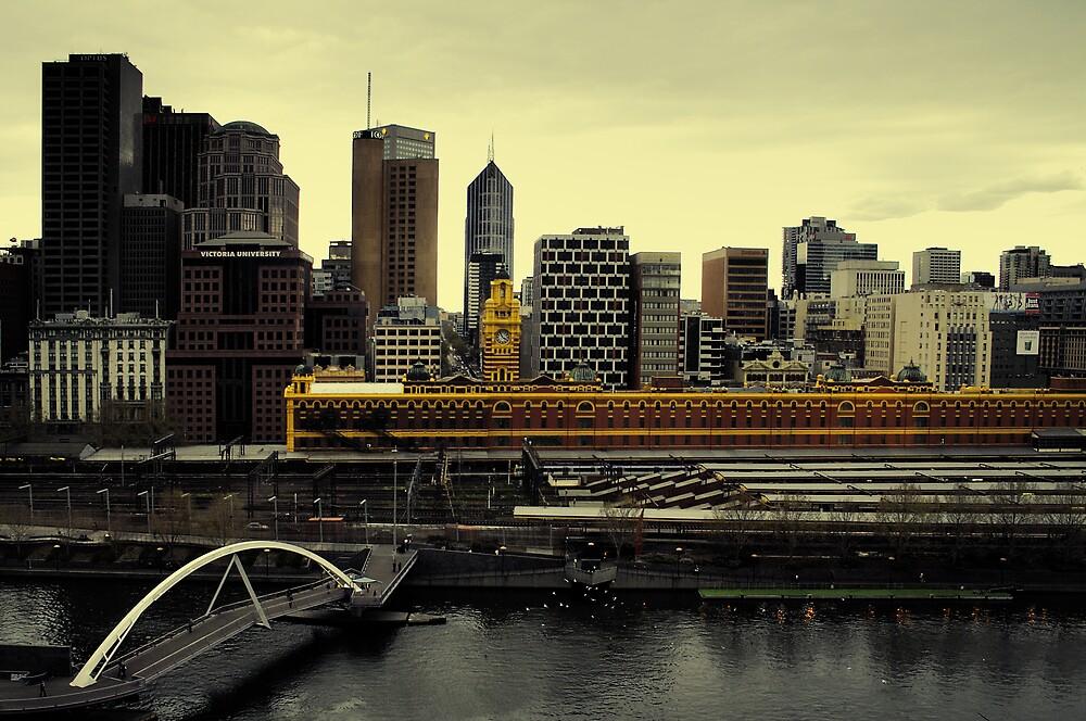 Melbourne by David Haviland