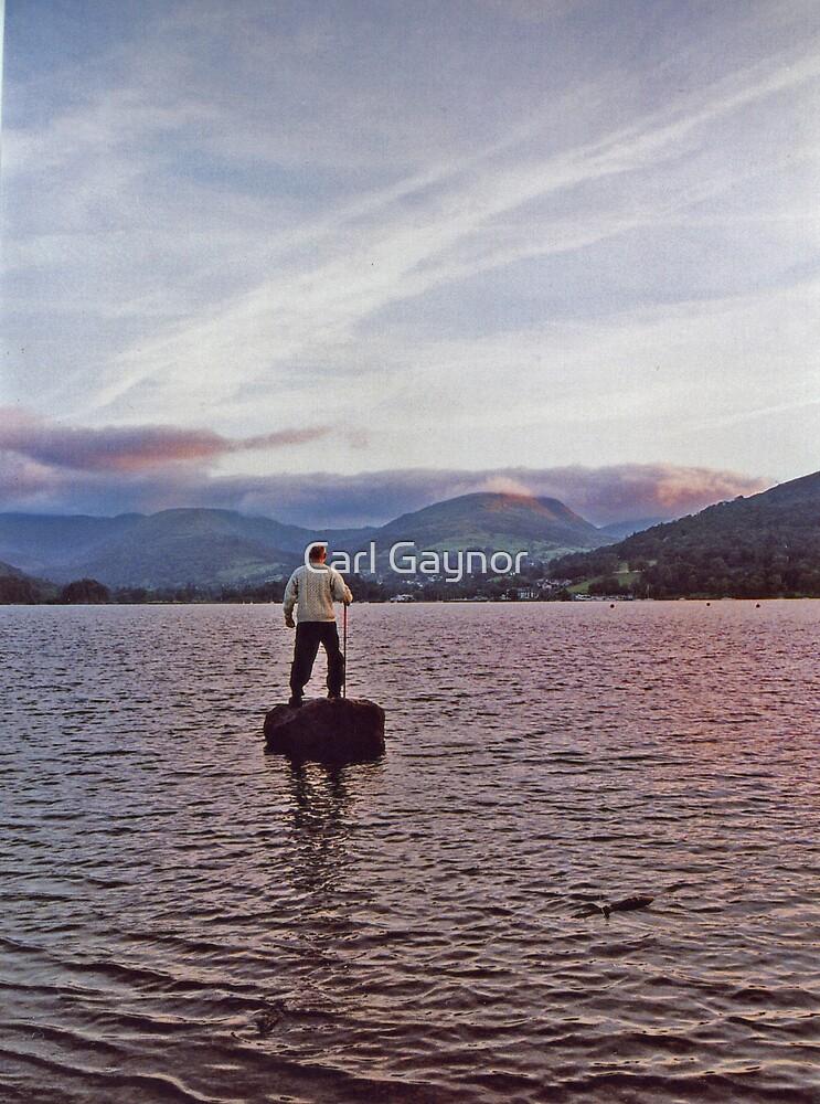 Walker at Sunrise  by Carl Gaynor