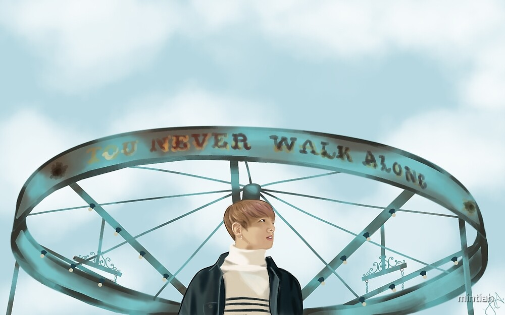 BTS Jungkook You Never Walk Alone