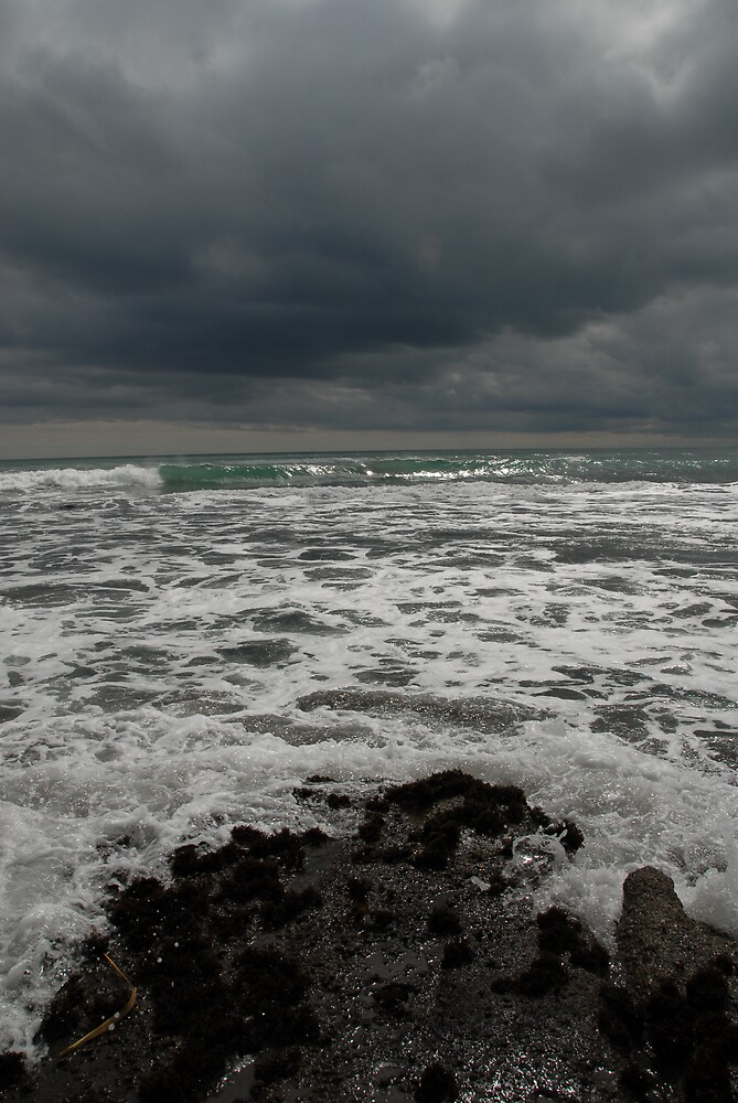Seascape - changeable weather by Danielle Kennedy Boyd
