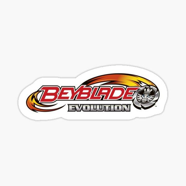 Beyblade Evolution Logo Sticker