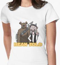 Bean Solo Women's Fitted T-Shirt
