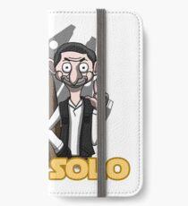 Bean Solo iPhone Wallet/Case/Skin