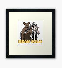 Bean Solo Framed Print