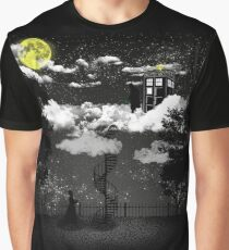 There is a doctor between clouds Graphic T-Shirt