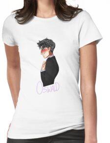 Nygmobblepot Matching Shirt-Oswald Womens Fitted T-Shirt
