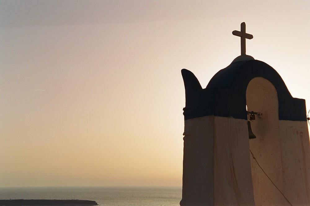 Santorini by Rachel Gellert