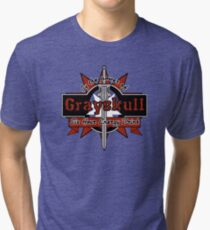 Grayskull Energy Drink (recolor) Tri-blend T-Shirt