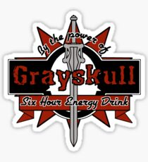 Grayskull Energy Drink (recolor) Sticker
