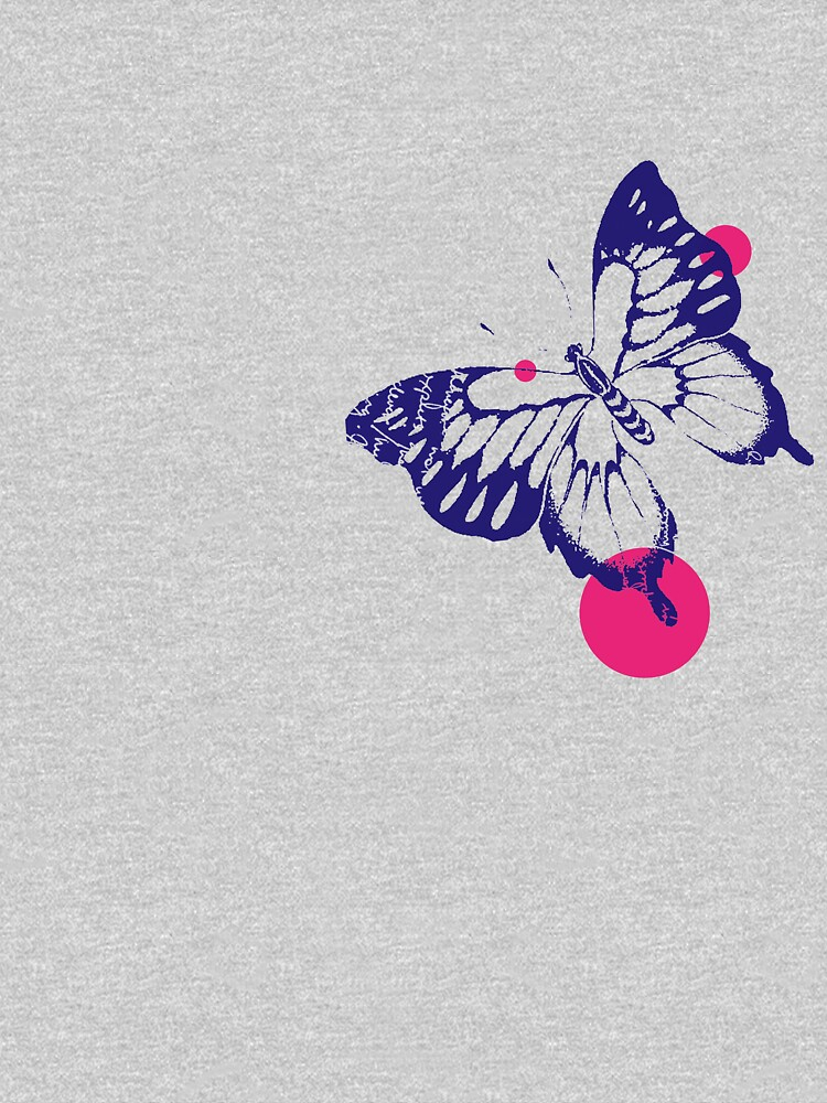 Butterfly Pink Dots by mishamission