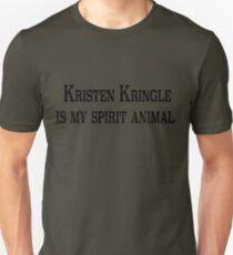 Kristen Kringle is my Spirit Animal Unisex T-Shirt