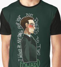 Nygmobblepot Matching Shirt-Edward Graphic T-Shirt