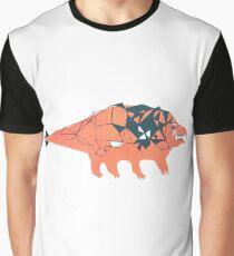 Ankylosaurid Dinosaur Graphic T-Shirt