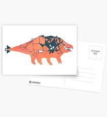 Ankylosaurid Dinosaur Postcards