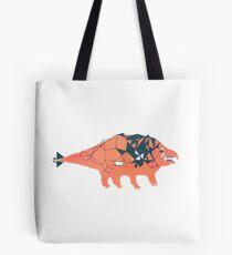 Ankylosaurid Dinosaur Tote Bag