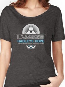 Hadleys Hope - Atmosphere Processing Plant - Aliens Women's Relaxed Fit T-Shirt