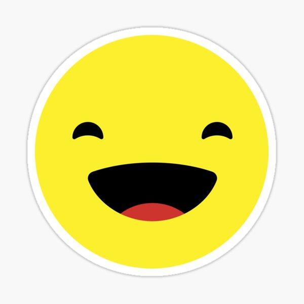 Funny Emoticon Lol Stickers Redbubble
