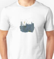 San Francisco skyline old map T-Shirt
