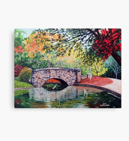 'The Bridge at Freedom Park (Another View)' Canvas Print