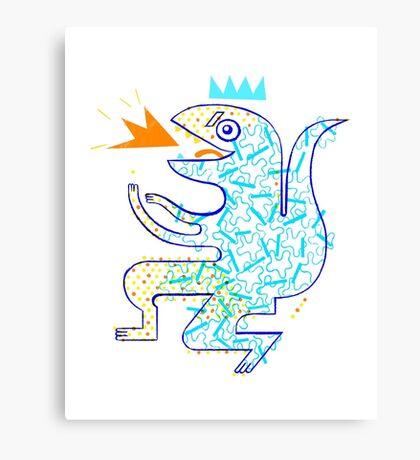 Dinosaur Arrrrr! Canvas Print
