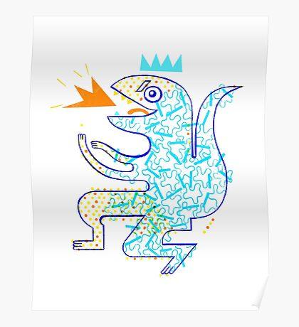 Dinosaur Arrrrr! Poster