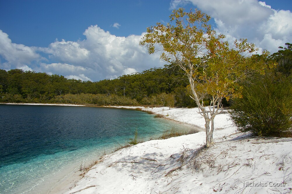 Lake McKenzie by Nicholas Coote