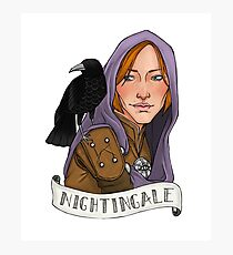 Nightingale Photographic Print