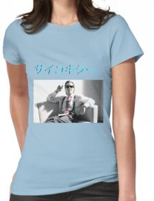 American Psycho aesthetic (Psycho Killer) Womens Fitted T-Shirt