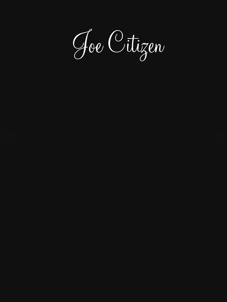 Joe Citizen by melinda