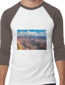 The Rugged Grand Canyon Men's Baseball ¾ T-Shirt