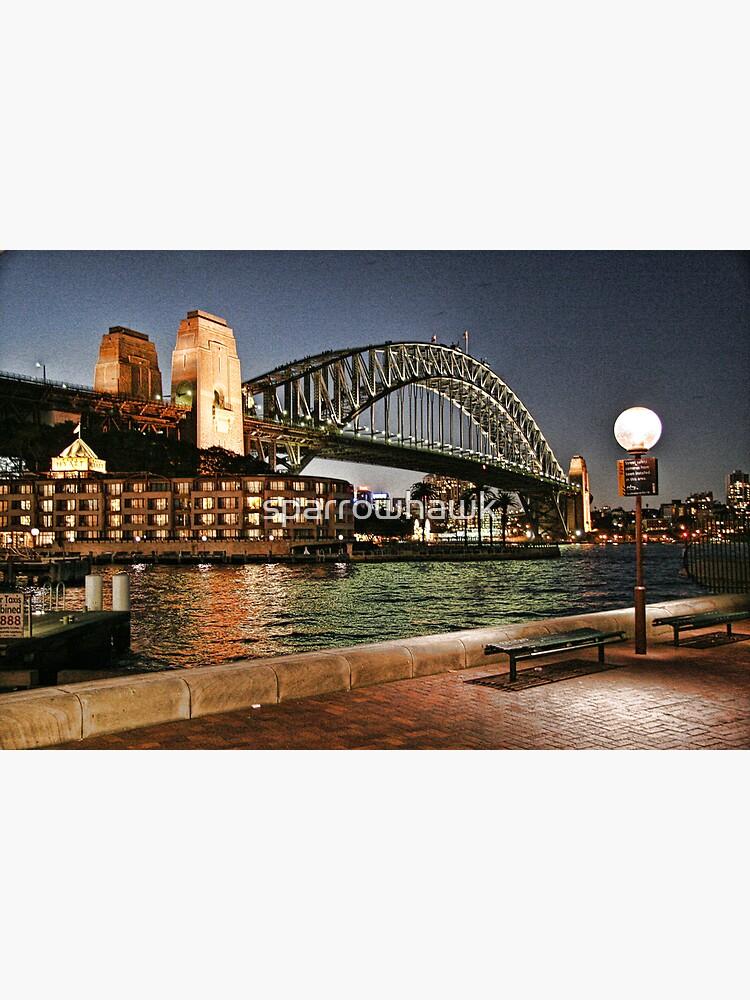 Sydney Series - Harbour Bridge by sparrowhawk