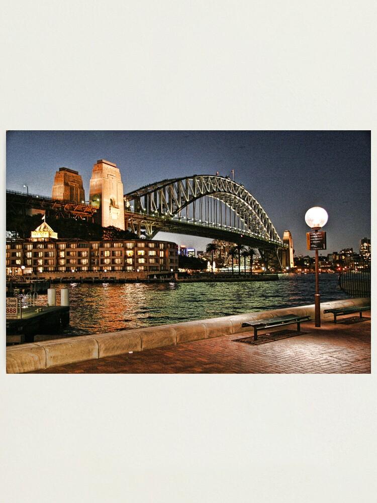 Alternate view of Sydney Series - Harbour Bridge Photographic Print