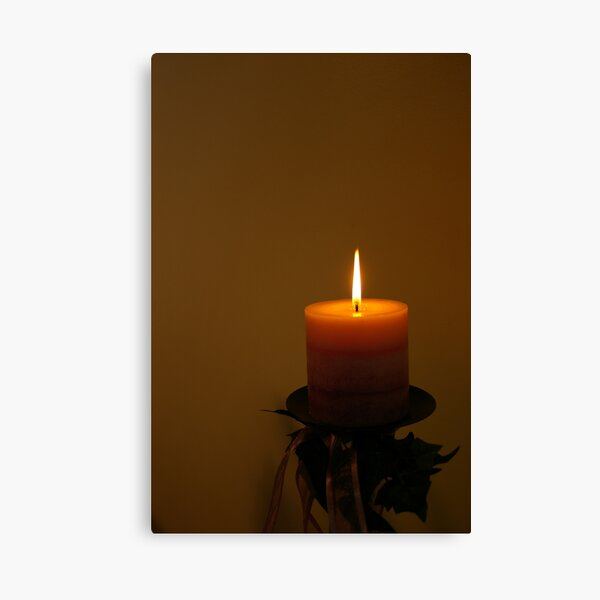 The corner candle  Canvas Print