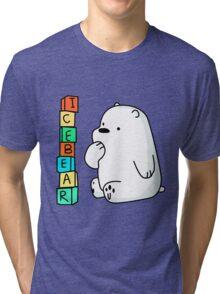Ice Bear Baby Tri-blend T-Shirt