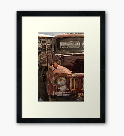 Rusted Framed Print