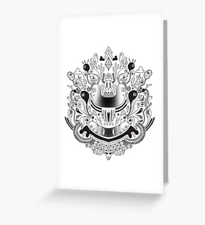 De Mente Greeting Card