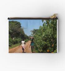 Walking Ugandan women Studio Pouch