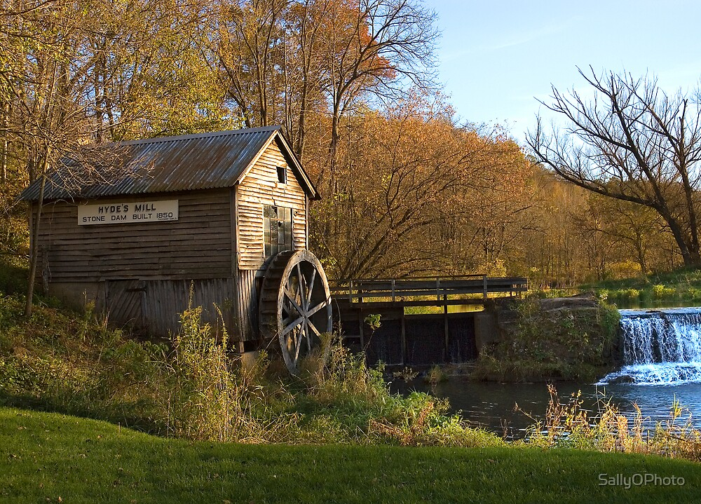 Hyde's Mill by SallyOPhoto