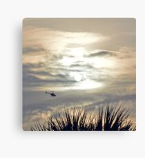 Helicopter Ride Canvas Print