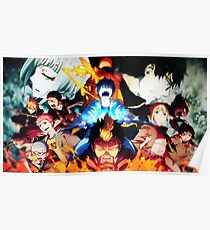 Ao no Exorcist: Characters 2 Poster