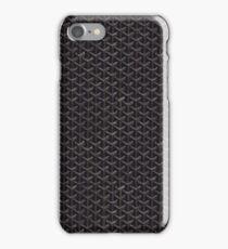 Goyard Black Pattern Gift iPhone Case/Skin