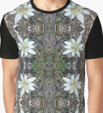 Edelweiss - Flower Graphic T-Shirt