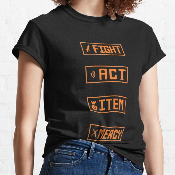 Undertale - Fight Menu Classic T-Shirt