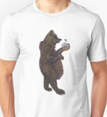 BEAR & THE BUMBLE BEE Unisex T-Shirt